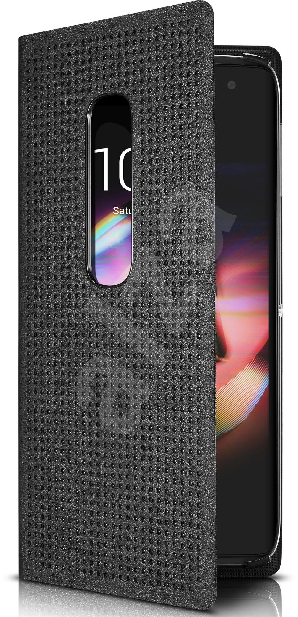 alcatel idol 4s 5 5 flip case black mobile phone cases. Black Bedroom Furniture Sets. Home Design Ideas