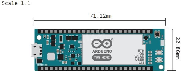 Arduino yÚn mini elektronischer baukasten alza at