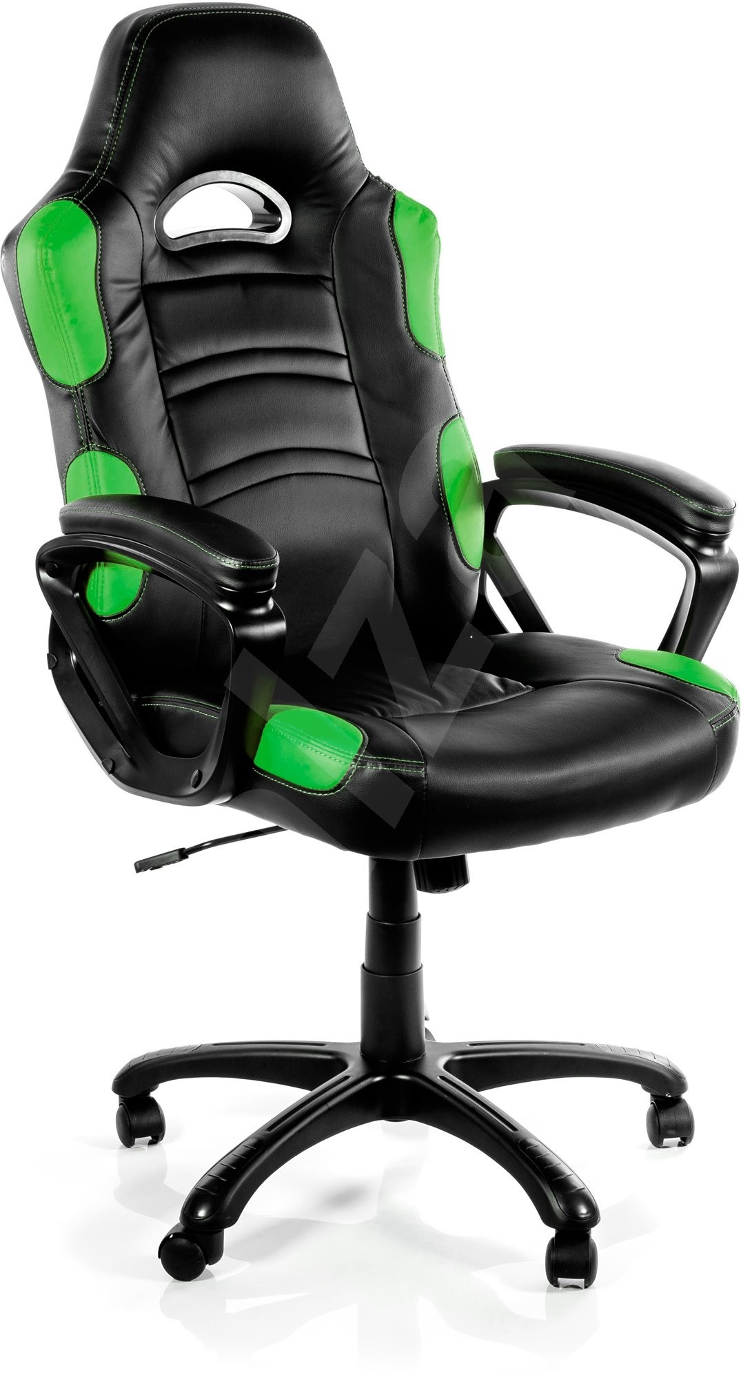 arozzi enzo green gaming chair. Black Bedroom Furniture Sets. Home Design Ideas