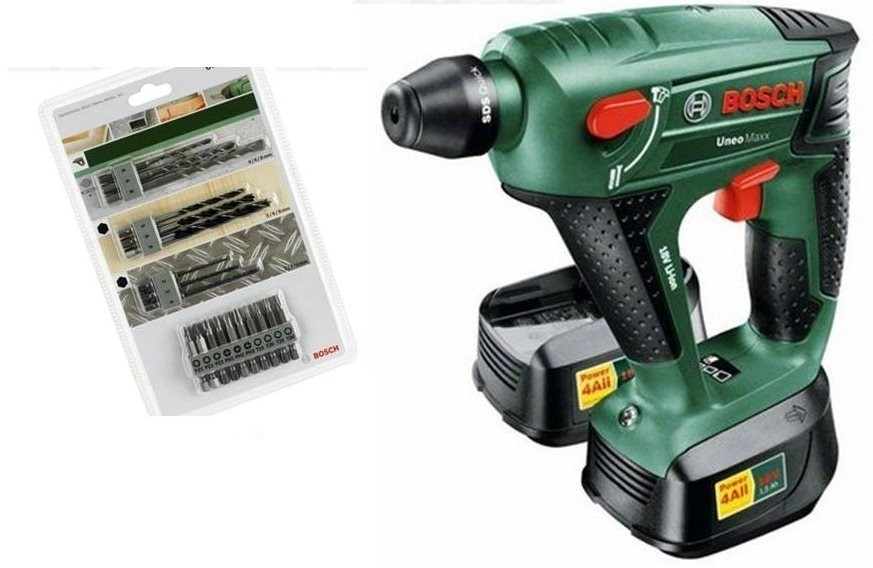 bosch uneo maxx hammer drill. Black Bedroom Furniture Sets. Home Design Ideas