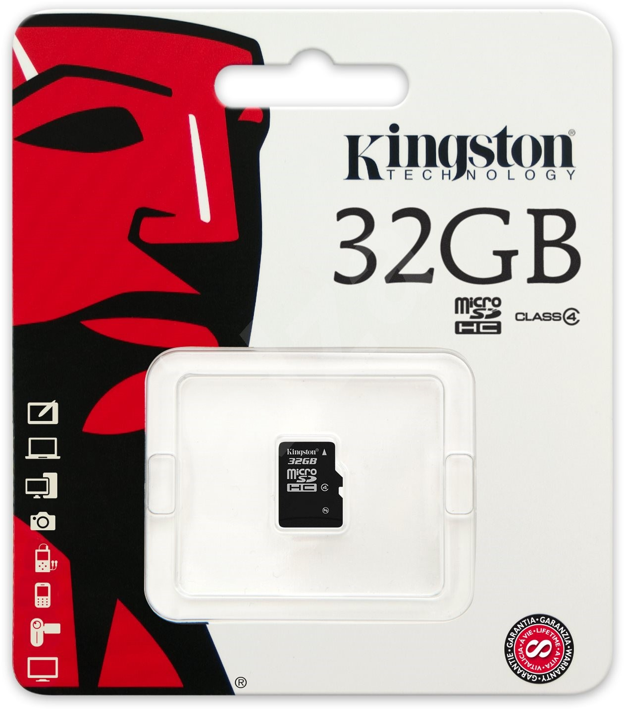 micro kingston 32gb sdhc class 4 speicherkarte. Black Bedroom Furniture Sets. Home Design Ideas