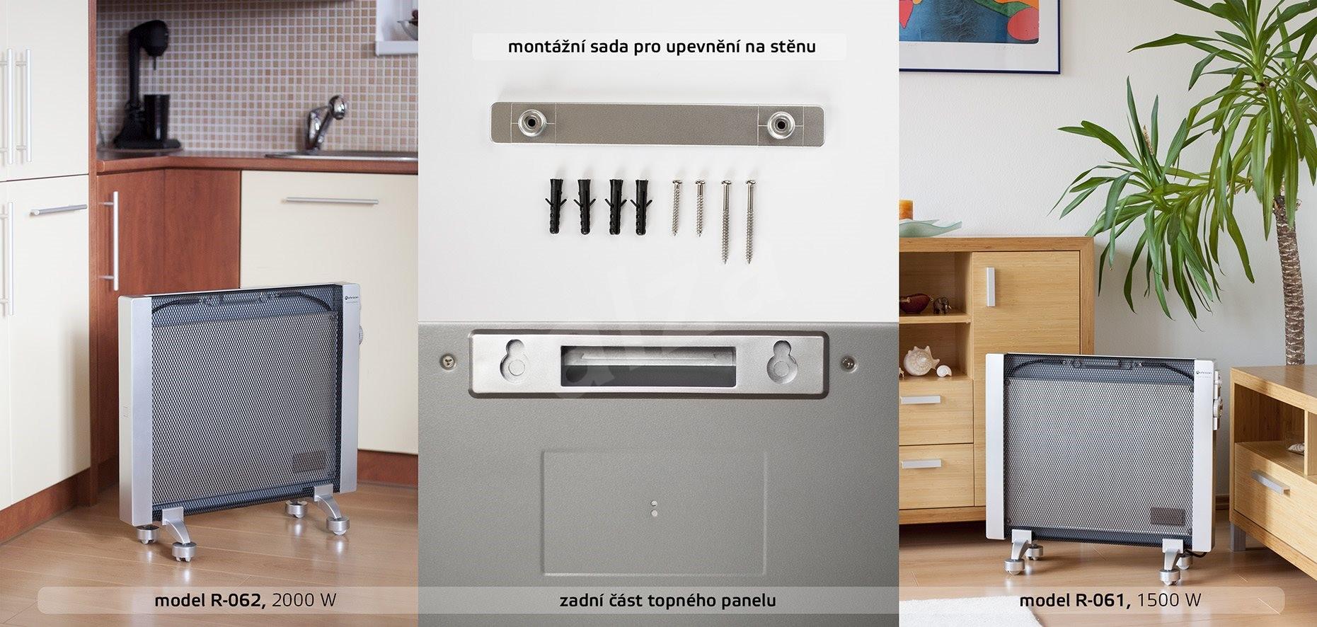 rohnson r 062 neue elektroheizung. Black Bedroom Furniture Sets. Home Design Ideas