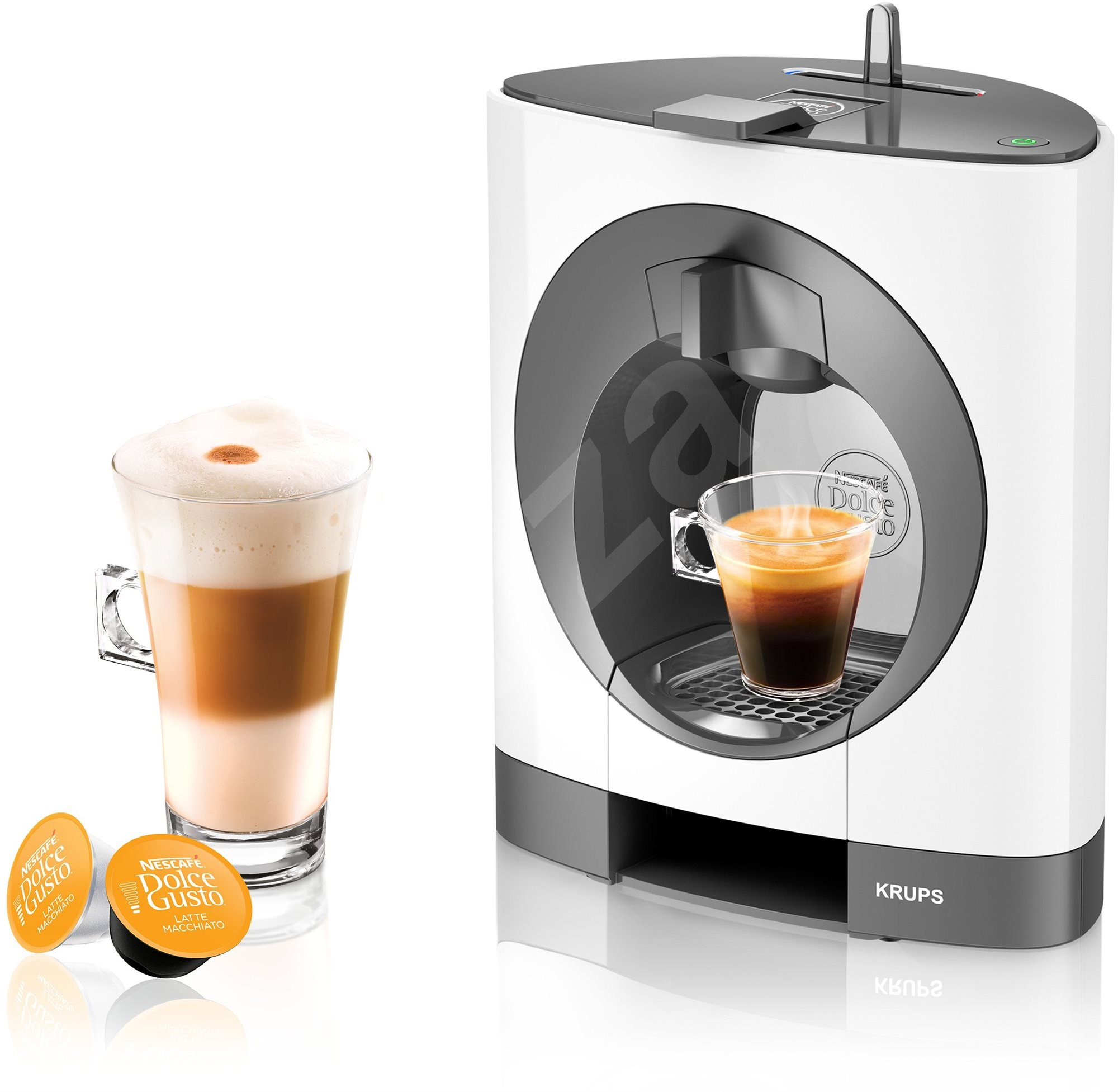 krups kp110131 nescaf dolce gusto oblo capsule coffee machine. Black Bedroom Furniture Sets. Home Design Ideas