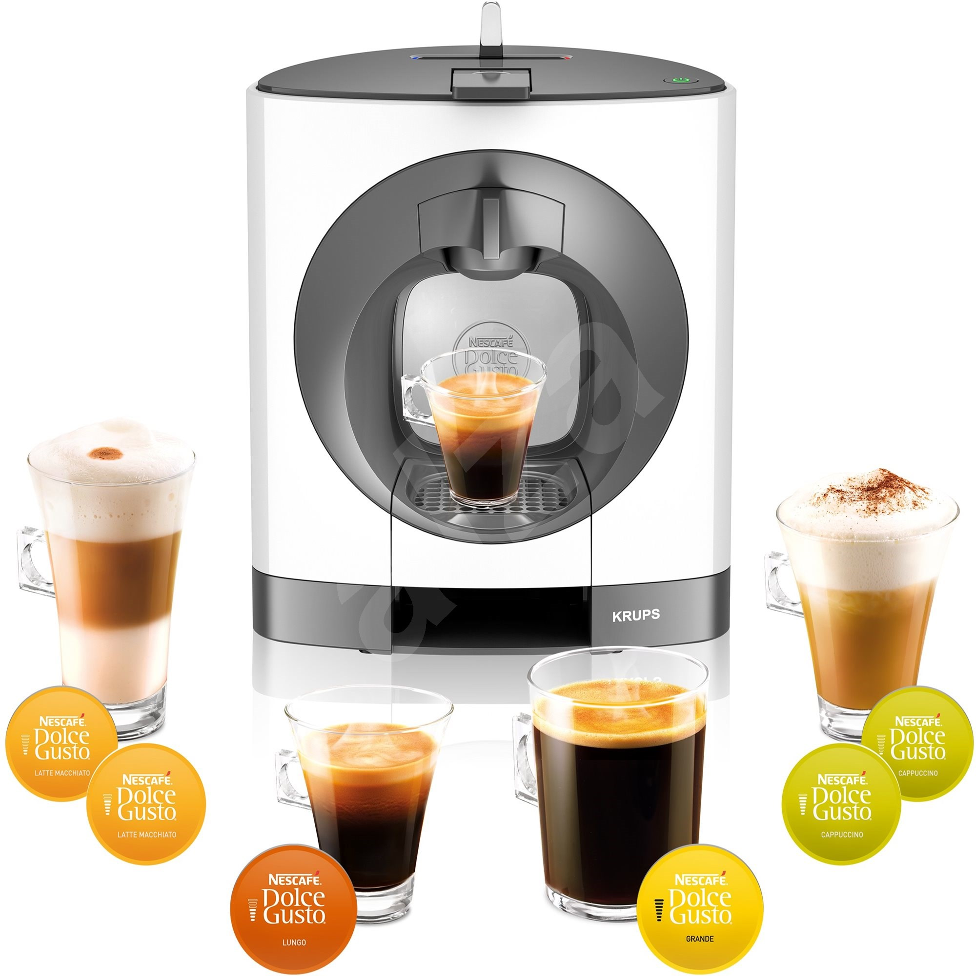 Krups kp110131 nescaf dolce gusto oblo capsule coffee machine - Presentoir capsule dolce gusto ...