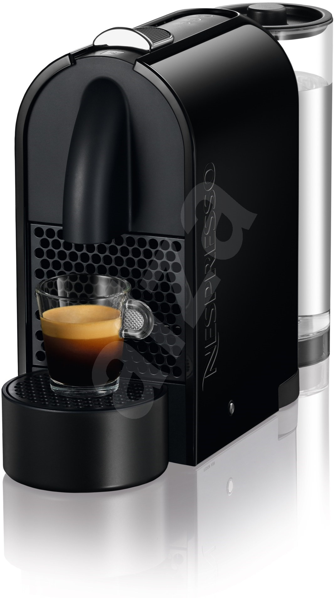 nespresso delonghi u en110 b black automatic coffee machine. Black Bedroom Furniture Sets. Home Design Ideas