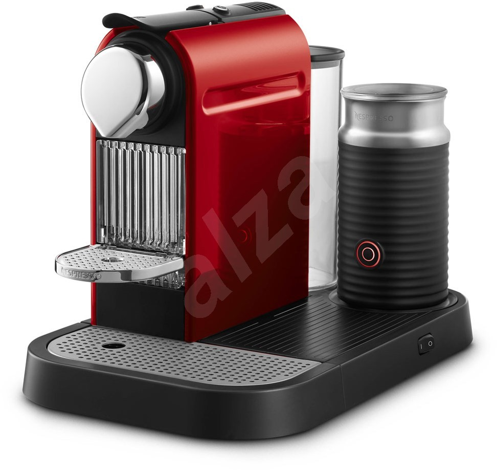 krups nespresso citiz milk xn730510 red automatic coffee machine. Black Bedroom Furniture Sets. Home Design Ideas