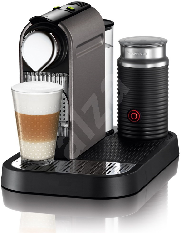 krups nespresso citiz milk xn730t10 titan espresso machine. Black Bedroom Furniture Sets. Home Design Ideas