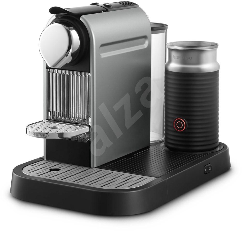 krups nespresso citiz milk xn730t10 titan espresso machine. Black Bedroom Furniture Sets. Home Design Ideas