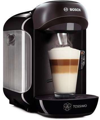 bosch tassimo tas1252 vivy black capsule coffee machine. Black Bedroom Furniture Sets. Home Design Ideas