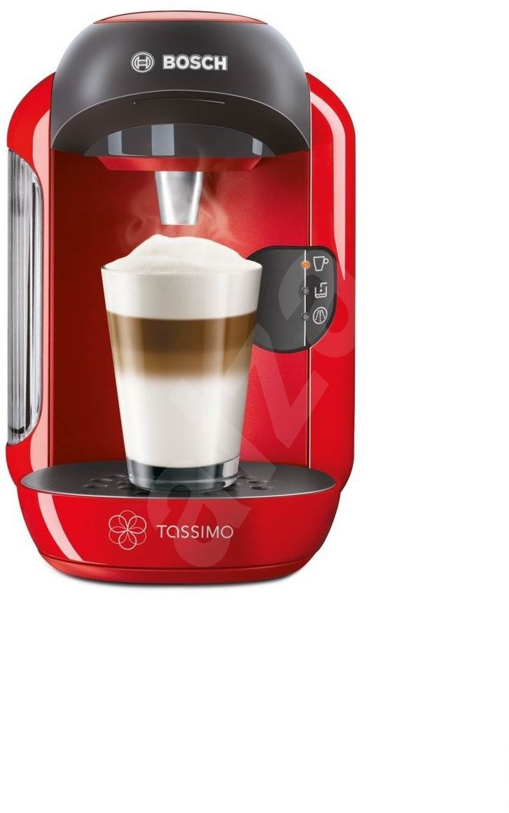 Bosch Coffee Maker Hot Water : Bosch TASSIMO TAS1253 Vivy red - Capsule Coffee Machine Alzashop.com