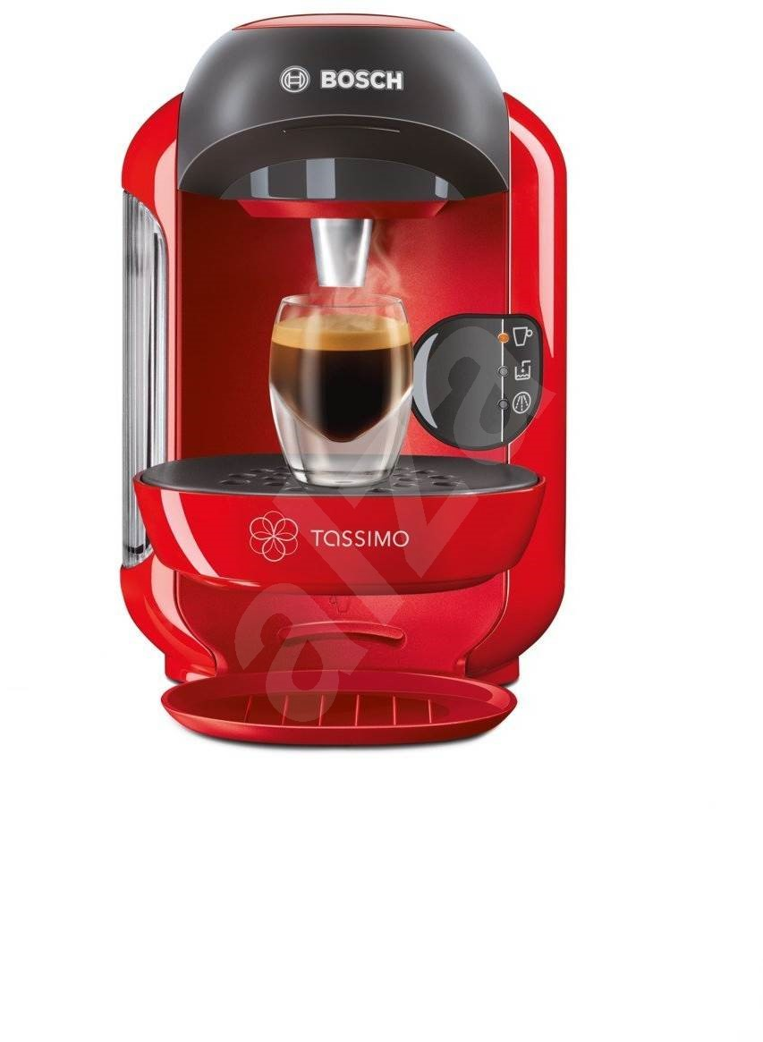 bosch tassimo tas1253 vivy red capsule coffee machine. Black Bedroom Furniture Sets. Home Design Ideas