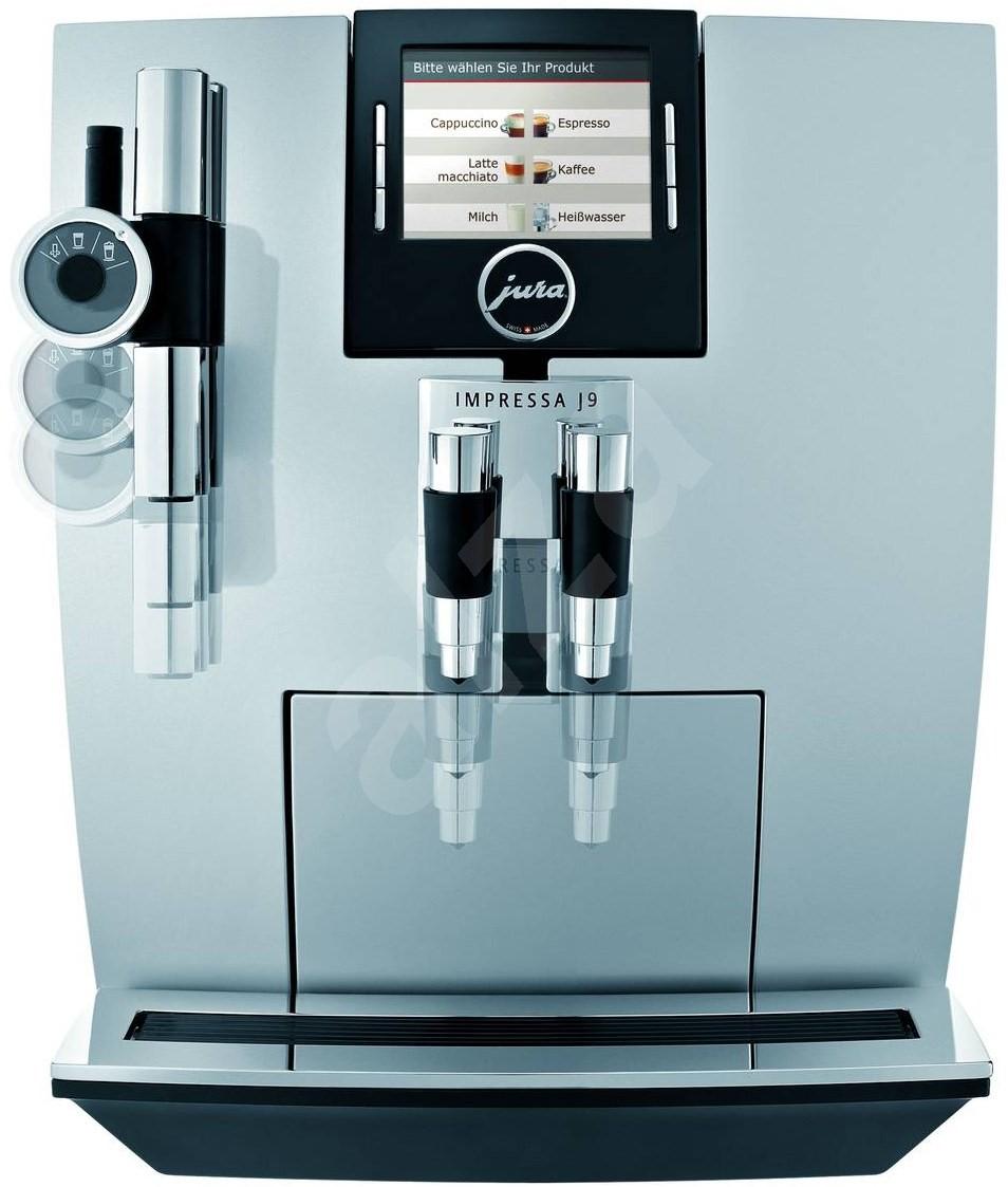 jura impressa j9 3 one touch tft brillantsilver espresso. Black Bedroom Furniture Sets. Home Design Ideas