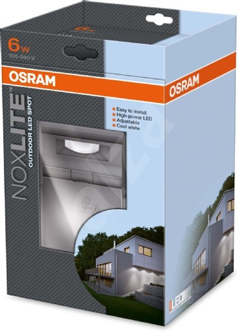 osram noxlite led spot 6w sv tilna. Black Bedroom Furniture Sets. Home Design Ideas