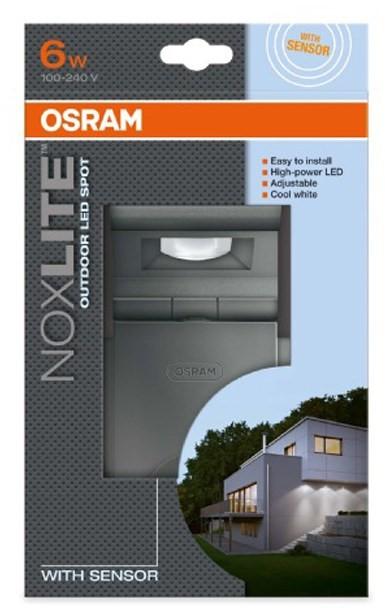 osram noxlite 6w led spot sensor light. Black Bedroom Furniture Sets. Home Design Ideas