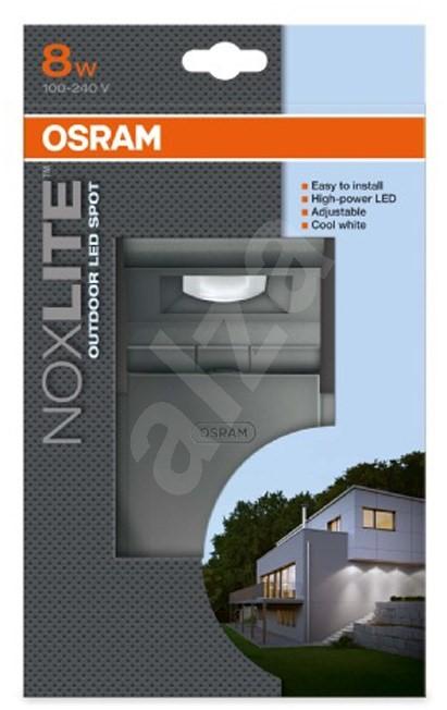 osram noxlite led spot sensor 8w sv tilna. Black Bedroom Furniture Sets. Home Design Ideas