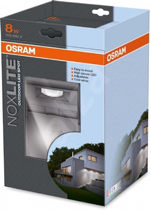 noxlite osram led spot sensor 8w light. Black Bedroom Furniture Sets. Home Design Ideas