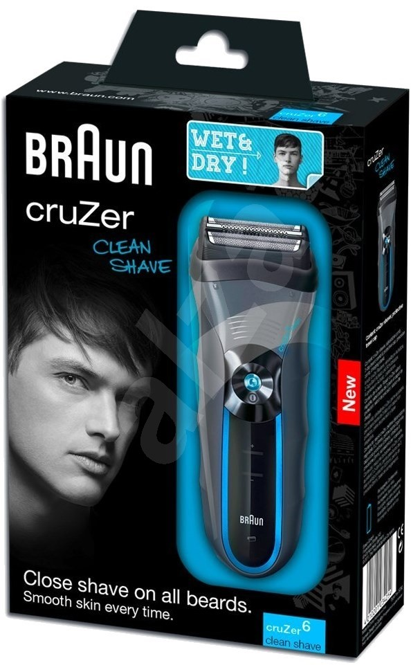 braun cruzer 6 clean shave shaver. Black Bedroom Furniture Sets. Home Design Ideas
