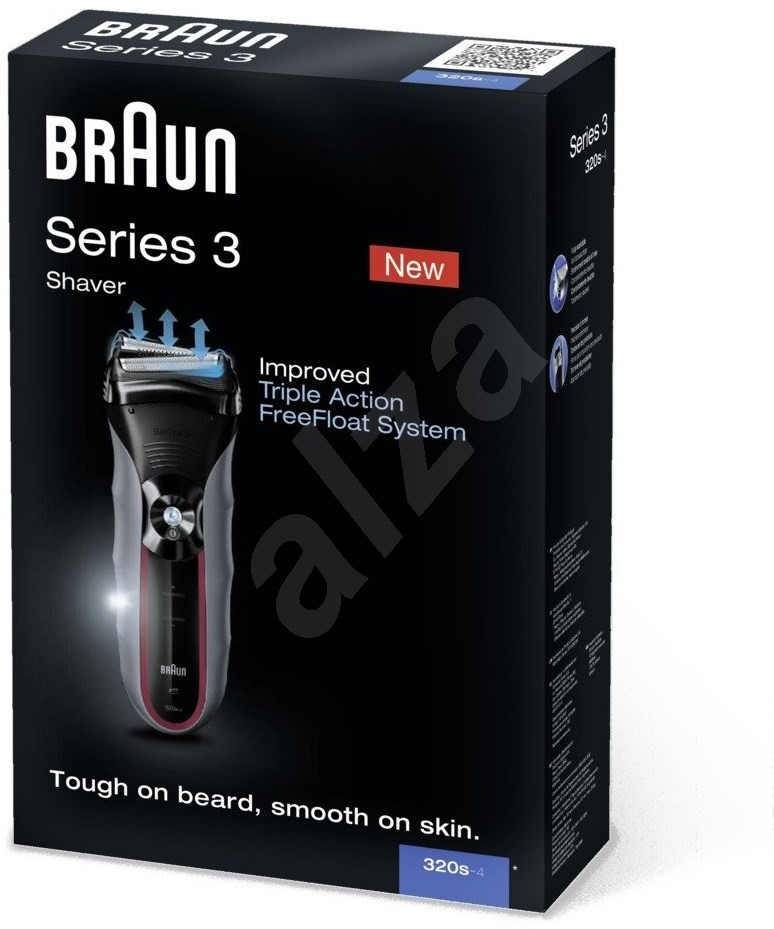 braun series 3 320s 4 shaver. Black Bedroom Furniture Sets. Home Design Ideas