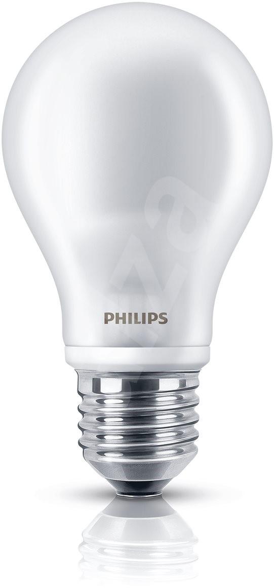 philips led classic 7 60w e27 2700k milky white 2pcs led bulb. Black Bedroom Furniture Sets. Home Design Ideas