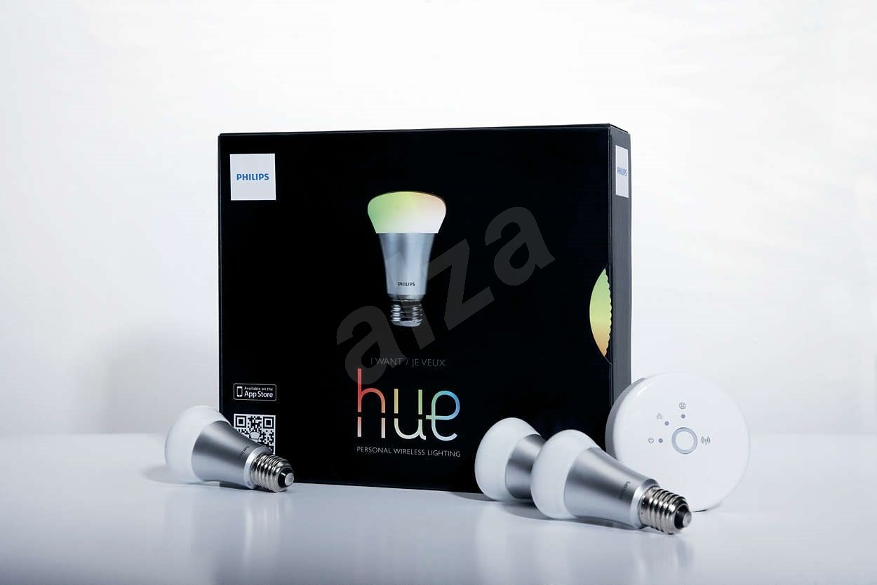 philips hue 9w e27 set led bulb. Black Bedroom Furniture Sets. Home Design Ideas