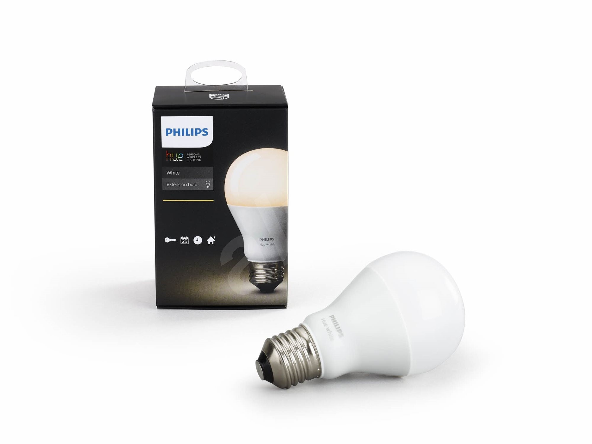philips hue white 9 5w e27 led bulb. Black Bedroom Furniture Sets. Home Design Ideas