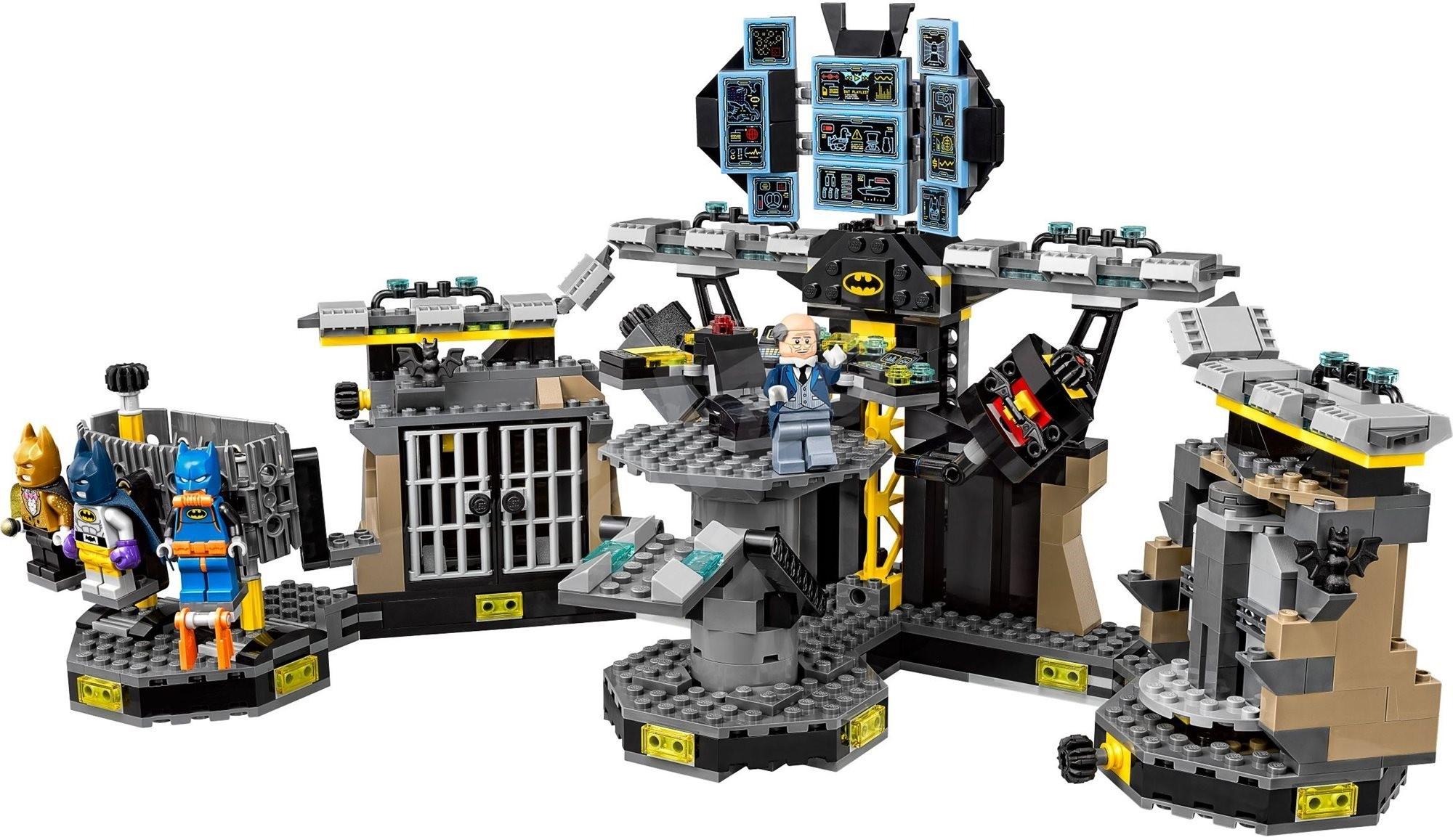 Лего Фильм Бэтмен  Аркхем Бэтпещера наборы LEGO Batman Movie 2017
