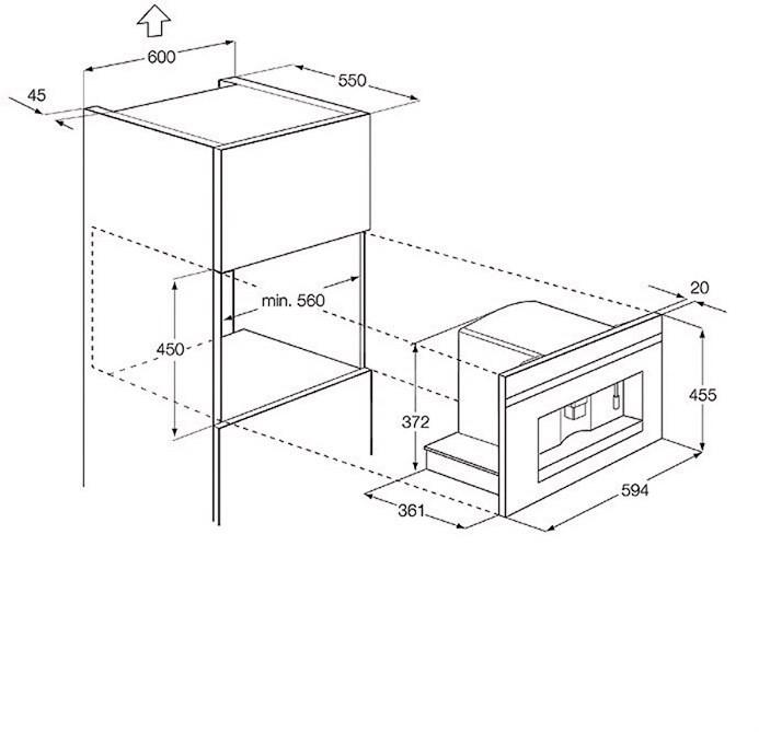electrolux ebc ox 54513 espressomaschine. Black Bedroom Furniture Sets. Home Design Ideas
