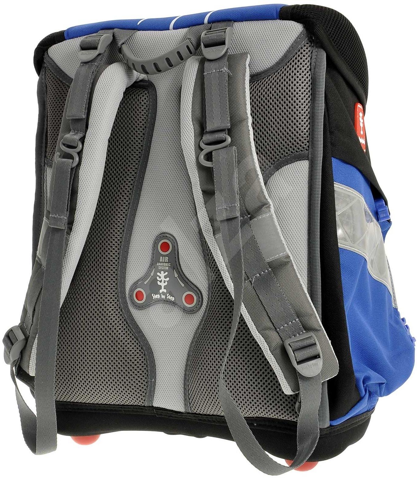 step by step school backpack set soccer ii school bag. Black Bedroom Furniture Sets. Home Design Ideas