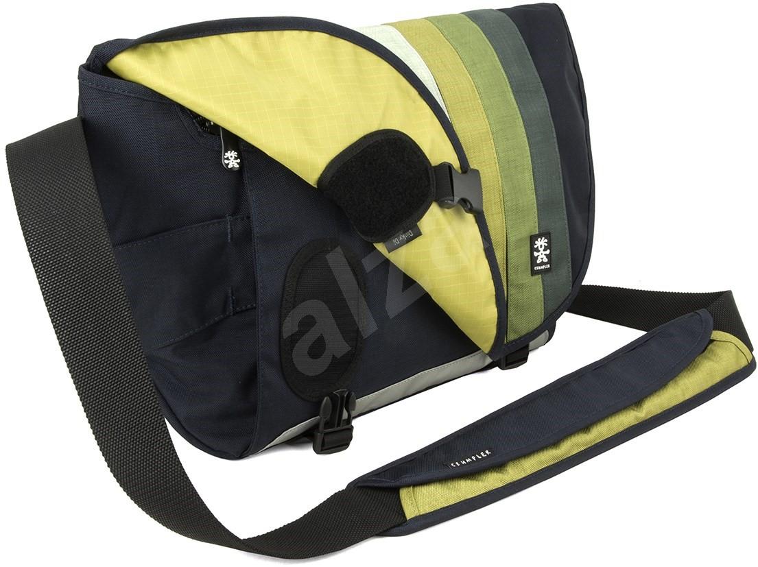 how to wear crumpler messenger bag