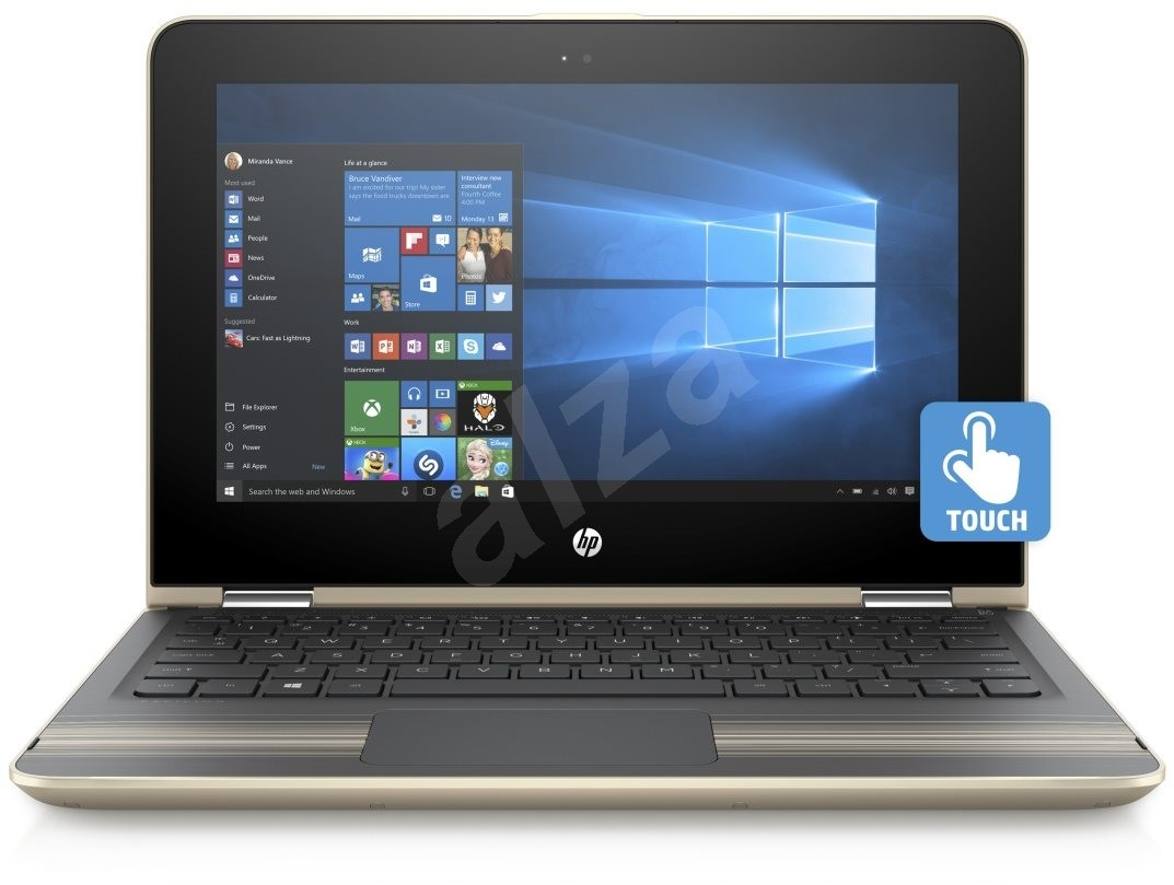 Hp Pavilion 11 U000nc X360 Modern Gold Touch Tablet Pc