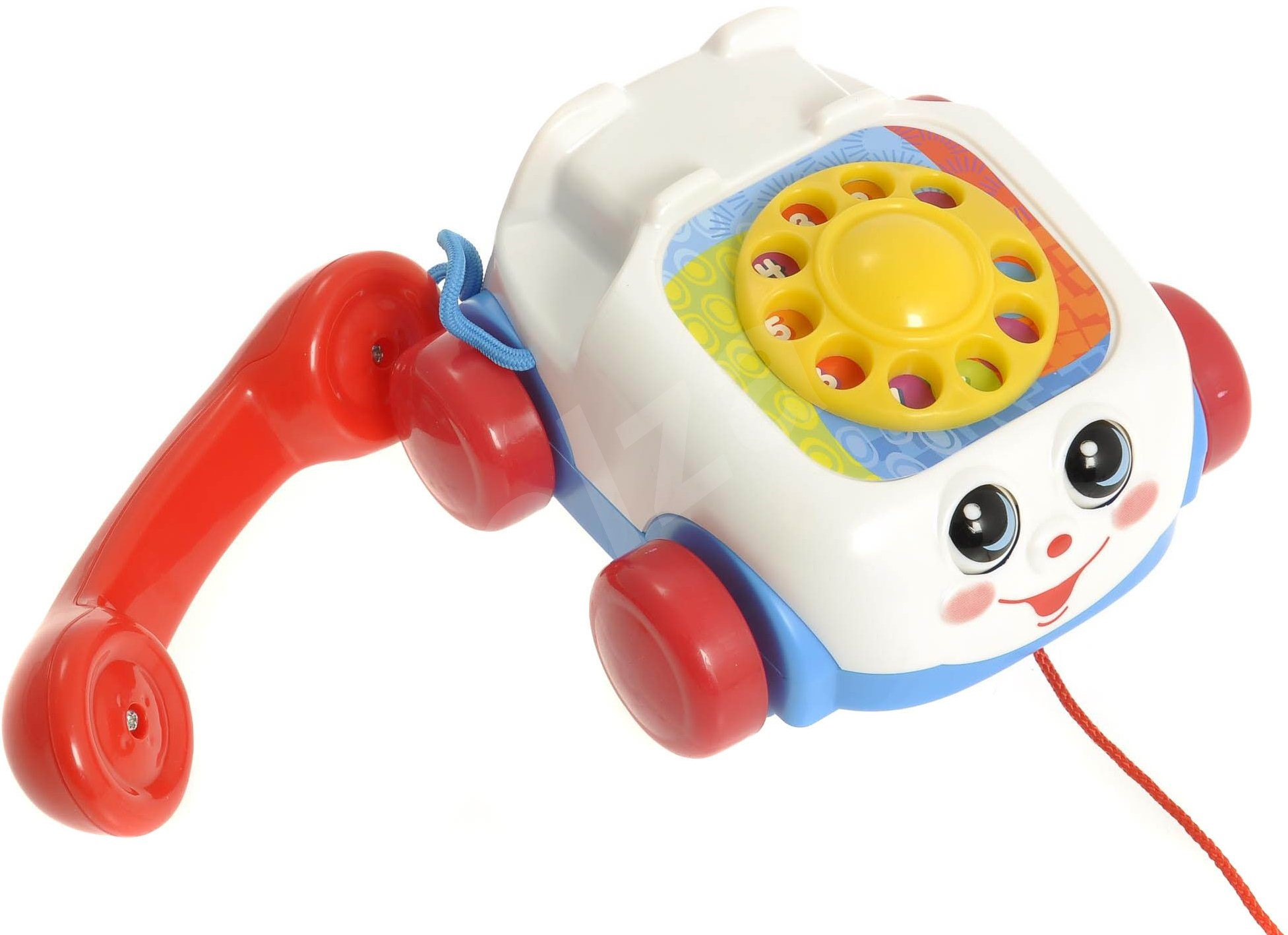 Push And Pull Toys : Fisher price pull phone push and toy alzashop