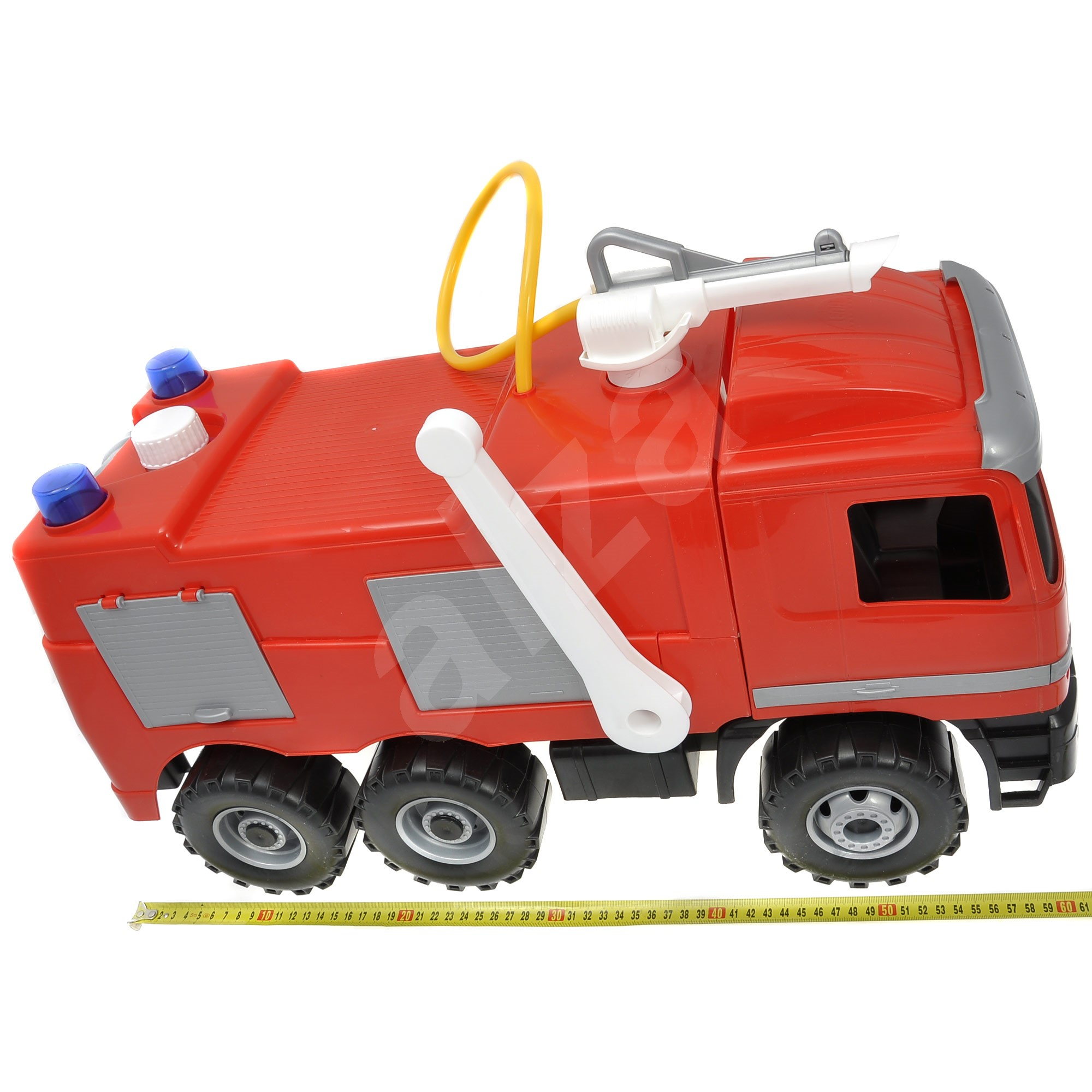 Lena mercedes benz fire truck in a box toy vehicle for Mercedes benz truck toys