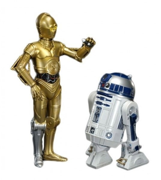 R2d2 And C3po Toys : Star wars action figures r d c po play set
