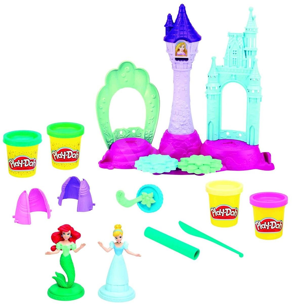 Play Doh Disney Princess Royal Palace Creative Kit