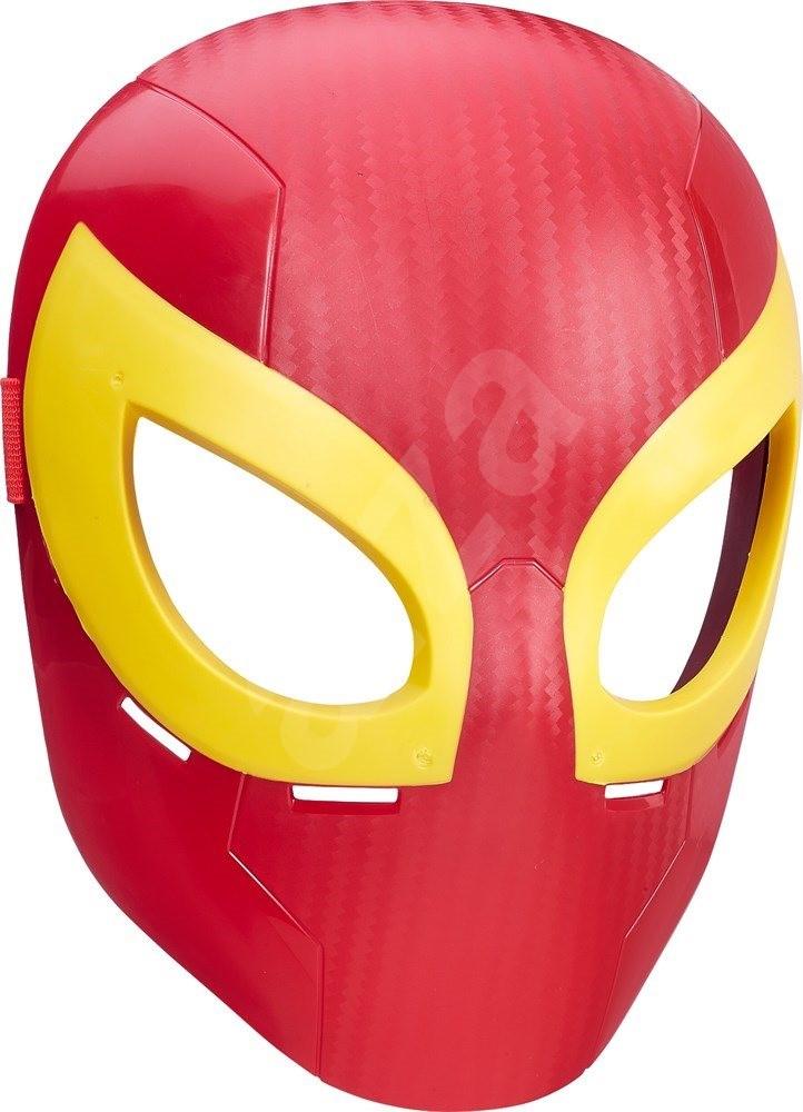 maske spiderman iron spider kinder gesichtsmaske. Black Bedroom Furniture Sets. Home Design Ideas