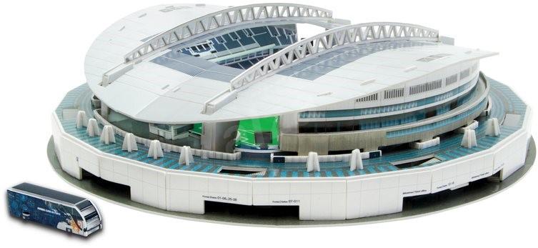 3d puzzle nanostad portugal o dragao stadion in porto puzzle. Black Bedroom Furniture Sets. Home Design Ideas