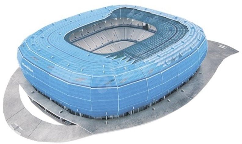 3d puzzle nanostad italy allianz arena fotbalov stadion puzzle. Black Bedroom Furniture Sets. Home Design Ideas