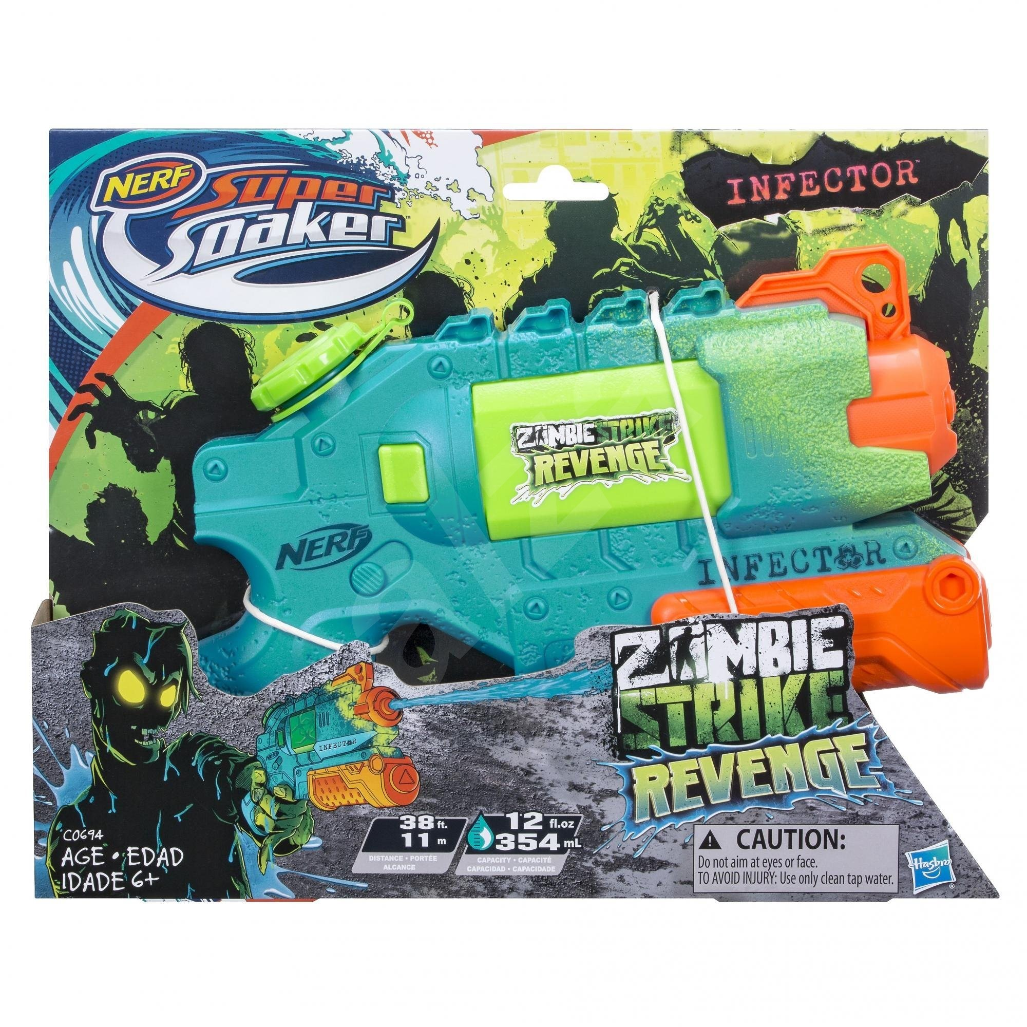 nerf water gun zombie strike infector water gun. Black Bedroom Furniture Sets. Home Design Ideas