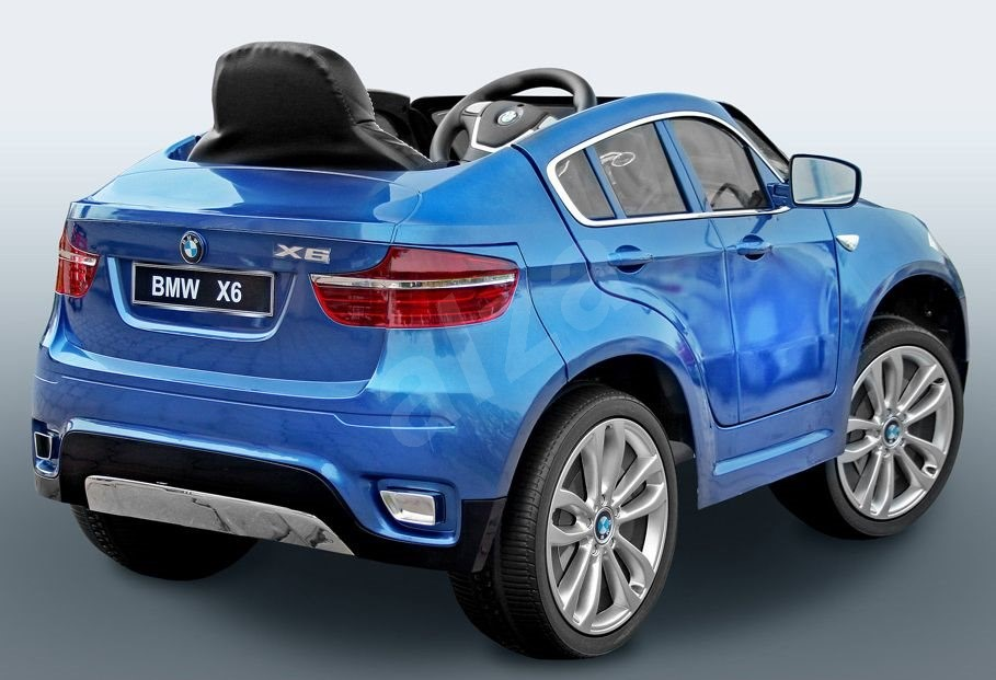 bmw x6 luxury painted blue electric vehicle. Black Bedroom Furniture Sets. Home Design Ideas