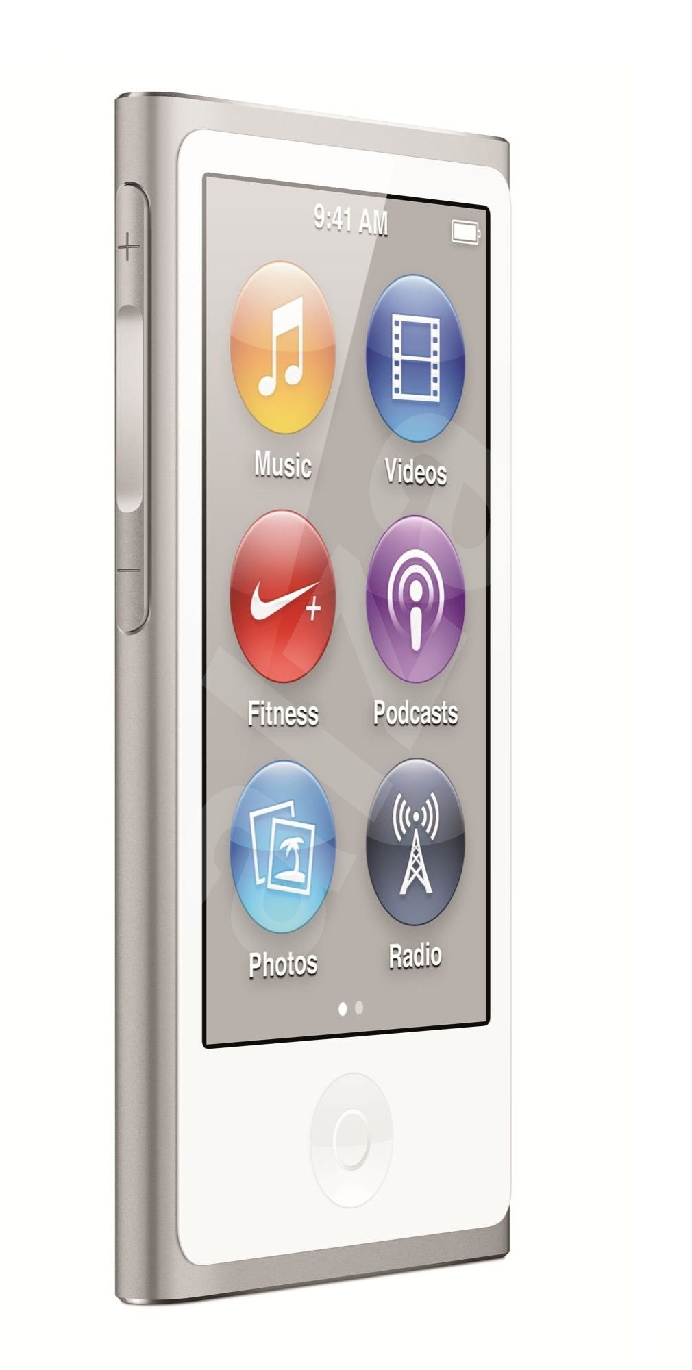 apple ipod nano 16gb silver 7th gen mp3 player. Black Bedroom Furniture Sets. Home Design Ideas