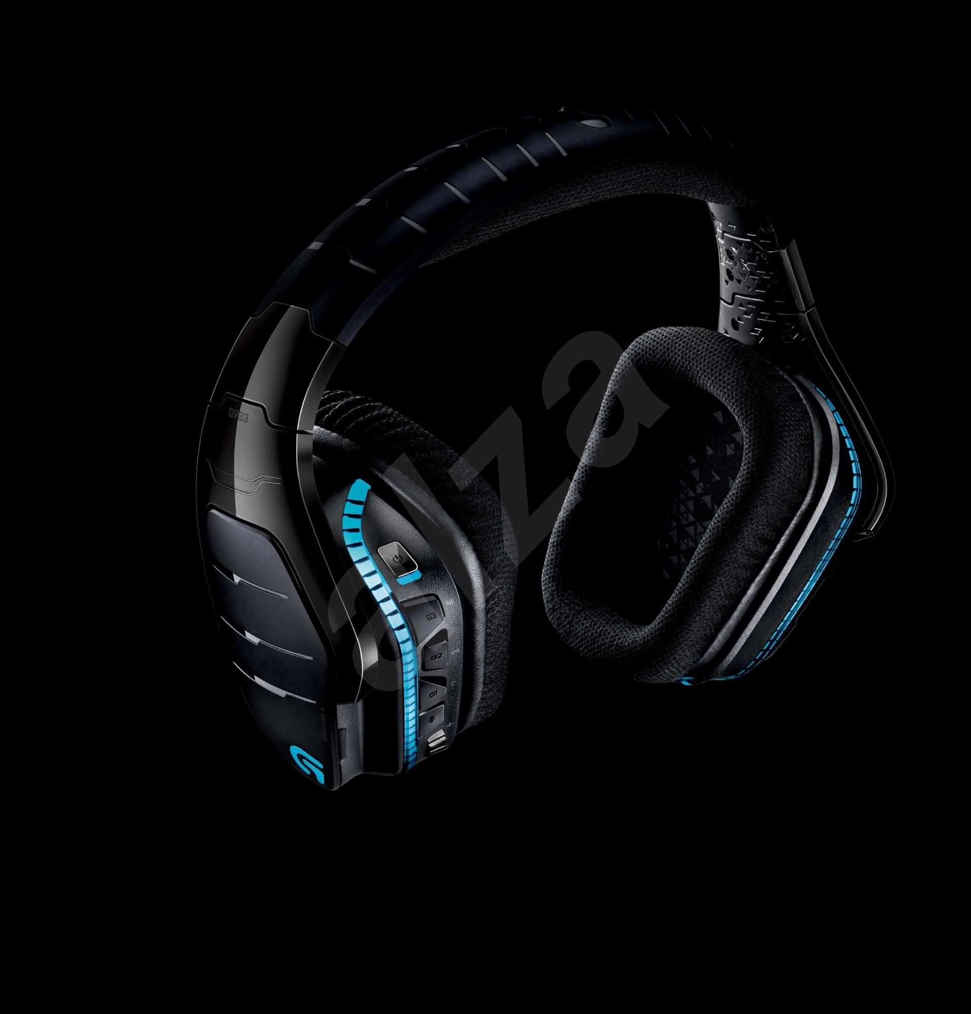 logitech g933 artemis spectrum headphones with mic. Black Bedroom Furniture Sets. Home Design Ideas
