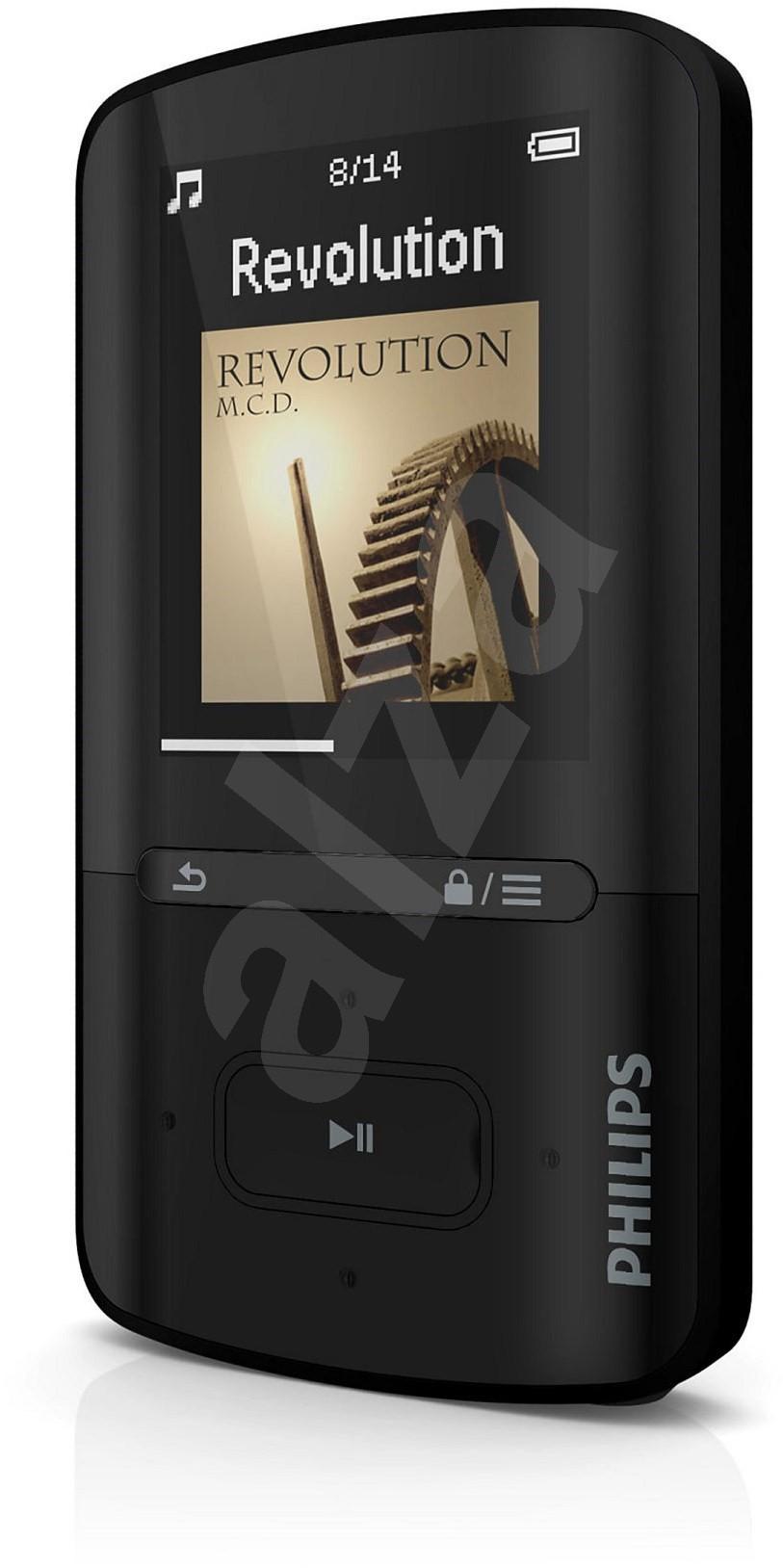 philips vibe sa4vbe04kf black mp4 player. Black Bedroom Furniture Sets. Home Design Ideas