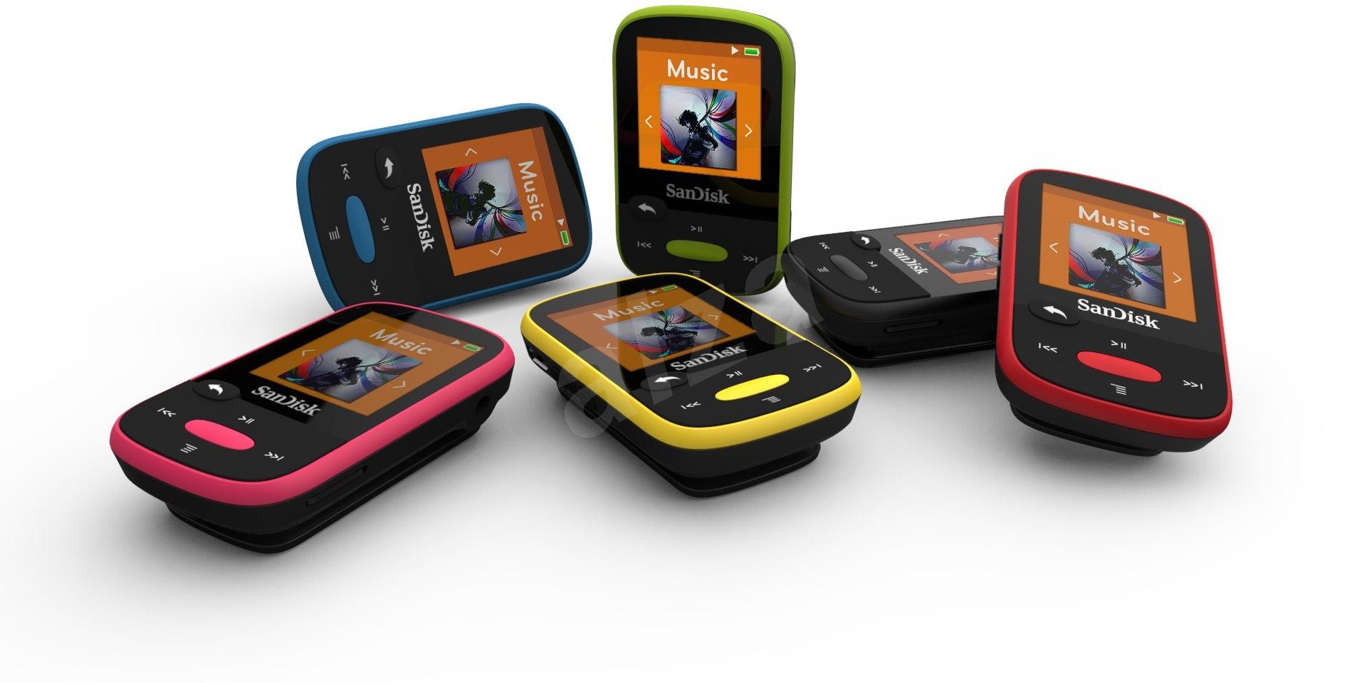 sandisk sansa clip sports 8gb blue mp3 player. Black Bedroom Furniture Sets. Home Design Ideas