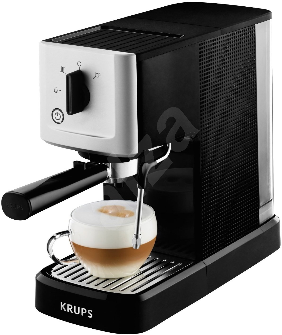Krups Coffee Maker Km1000 Manual : Krups Calvi manual XP344010 - Lever coffee machine Alzashop.com