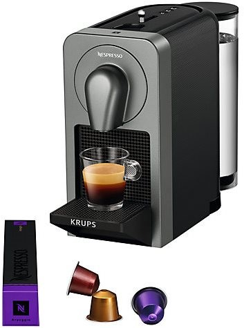 nespresso prodigio xn410t kapsel kaffeemaschine. Black Bedroom Furniture Sets. Home Design Ideas