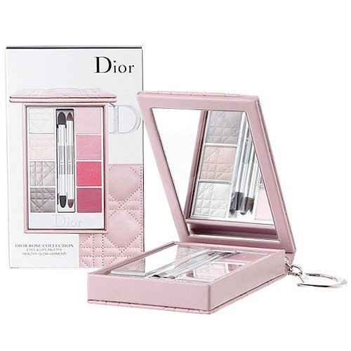 CHRISTIAN DIOR Rose Collection (Eyes & Lips Palette ...