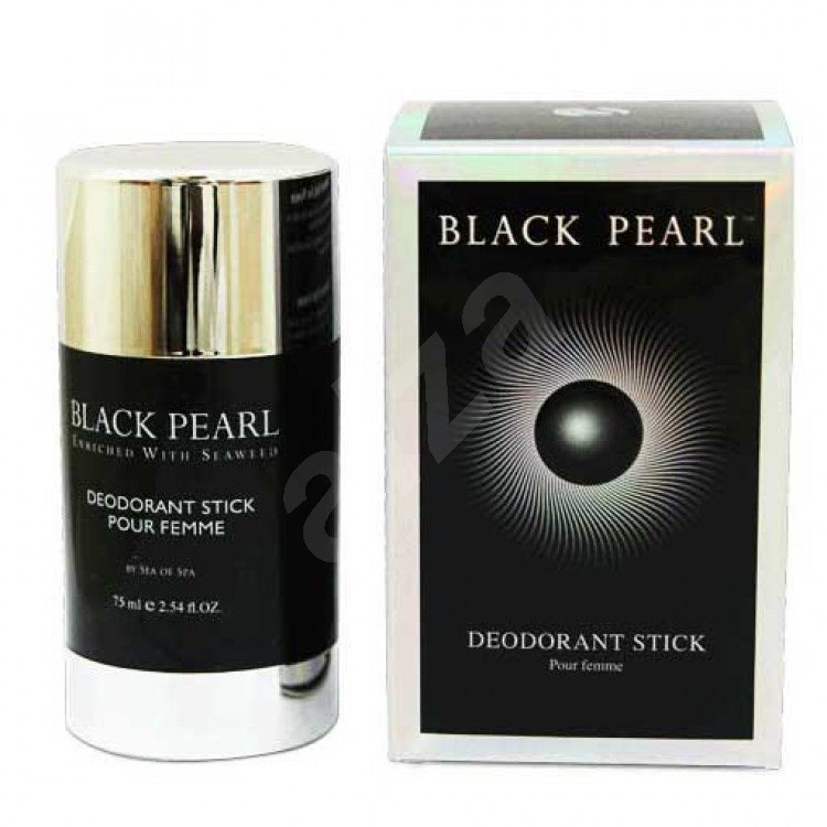 sea of spa black pearl deodorant stick pour femme 75ml d msk deodorant. Black Bedroom Furniture Sets. Home Design Ideas