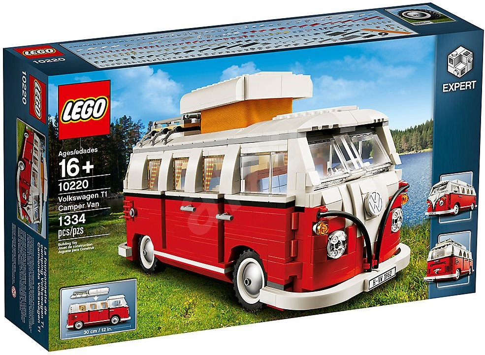 lego exclusives 10220 volkswagen t1 model z r 1962. Black Bedroom Furniture Sets. Home Design Ideas