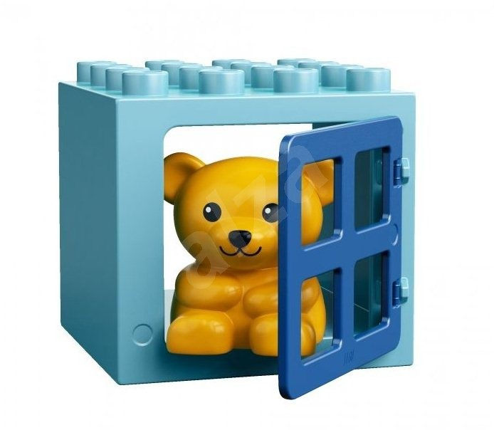 Lego duplo 10553 toddler build and play cubes building for Modele maison lego duplo