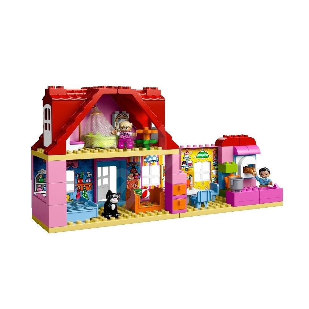 Lego duplo lego ville 10505 playhouse building kit for Modele maison lego duplo